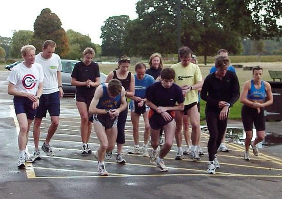 13 бегунов в 2004 году