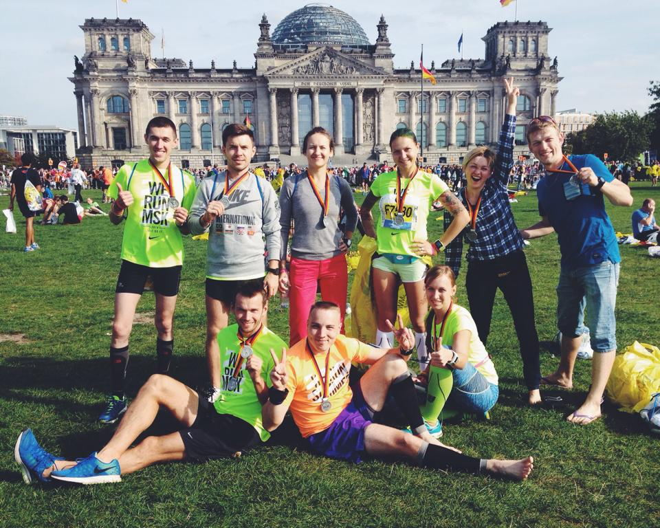 Московские бегуны, покорившие Берлин.