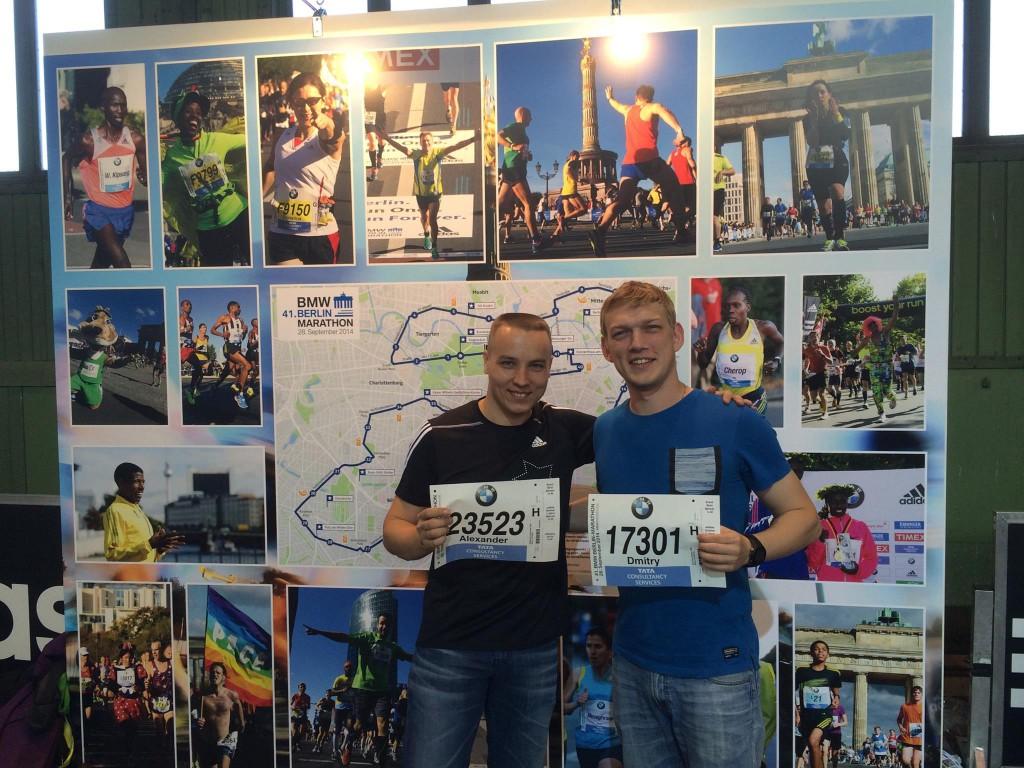 На экспо Берлинского марафона